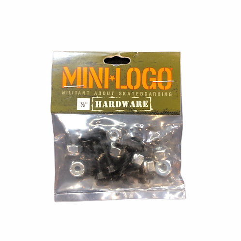 "Mini-Logo 7/8"" Hardware"
