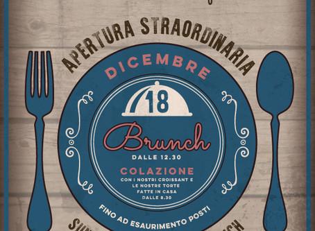 Edizione Straordinaria: Sunday Brunch -Domenica 18 Dicembre