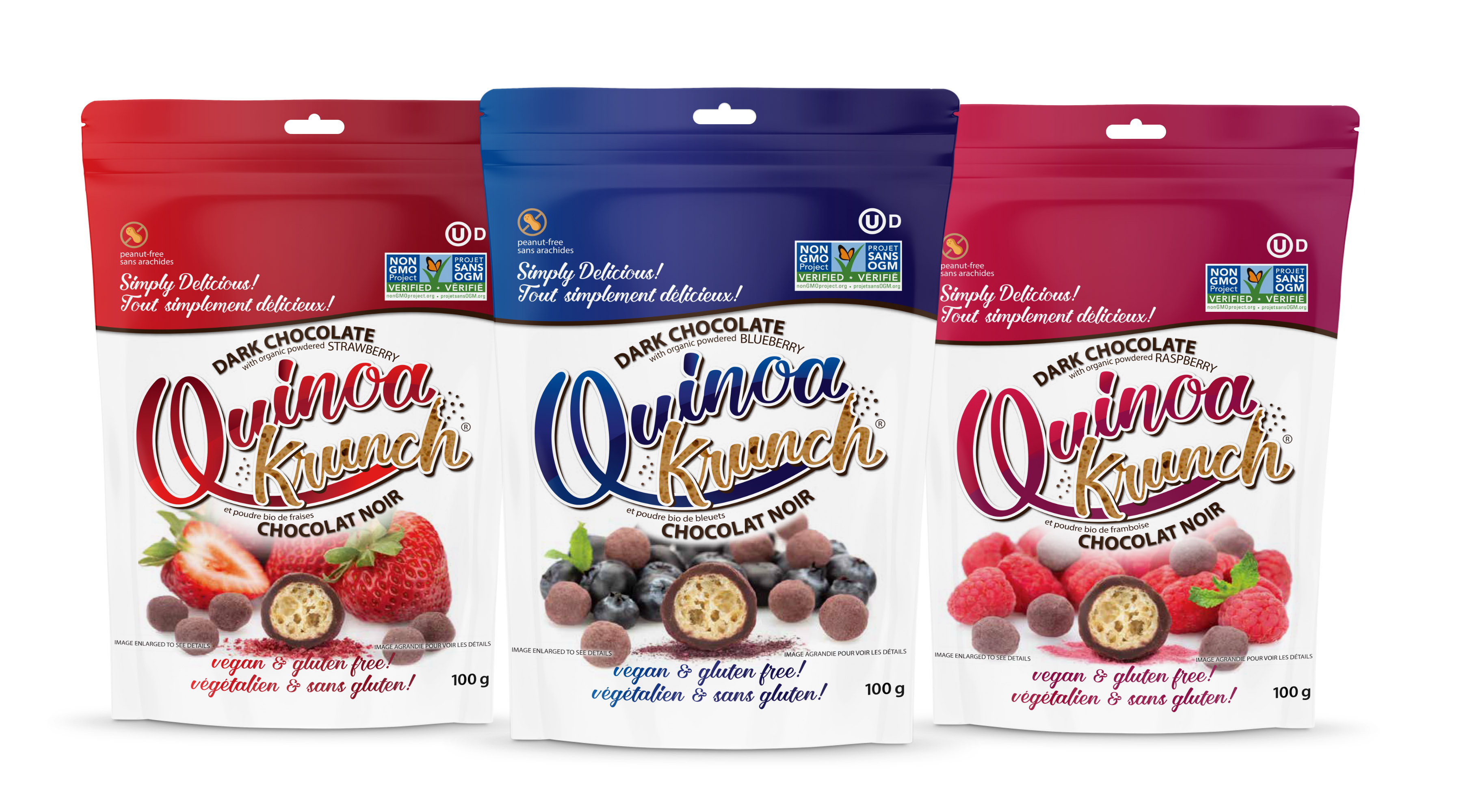 Quinoa Krunch Fruit Flavours