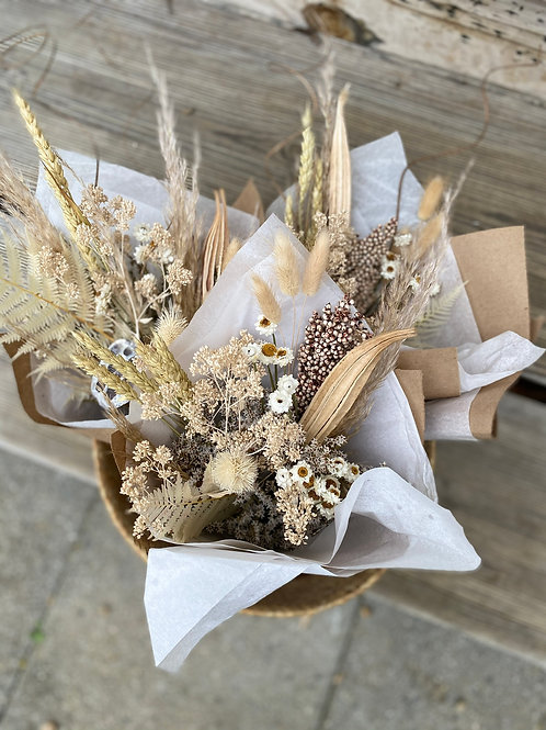 The Bridget Dried Flower Bouquet