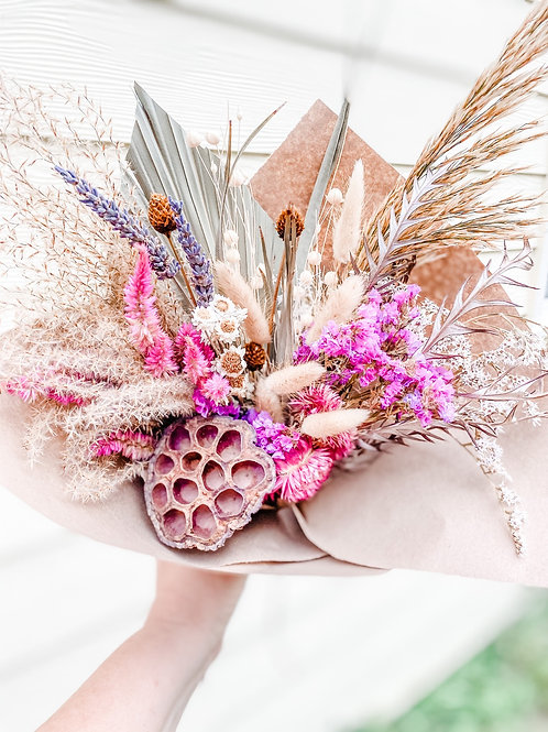 The Bella Dried Flower Bouquet