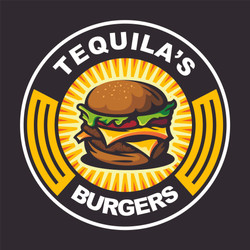 Tequila's burger