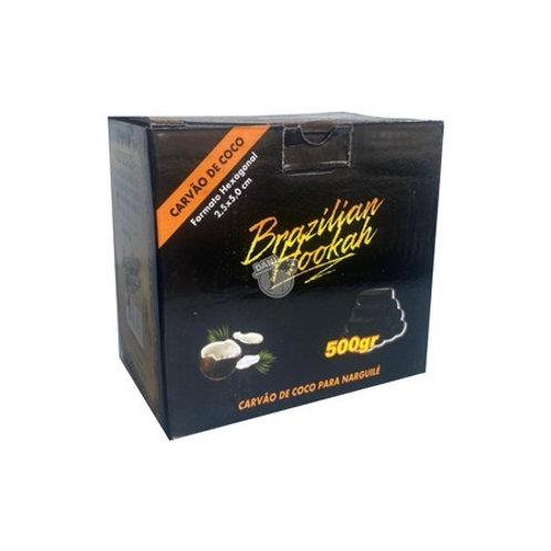 BRAZILLIAN HOOKAH BOX 500GHEXAGONAL