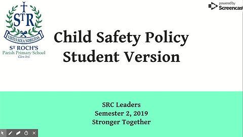 Child Safety Student Version