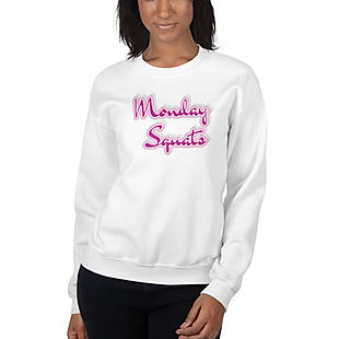 shapeit gym and street wear monday squats sweatshirt
