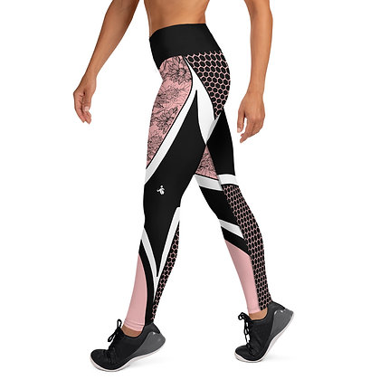 Vector Pink exercise leggings. #FITGIRL