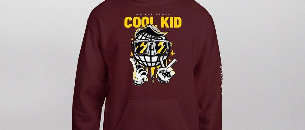 Maroon Shapeit Hoodie   Cool Kid