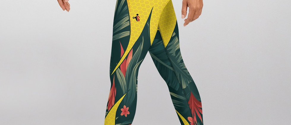 Jungle Fever exercise leggings.  #FITGIRL