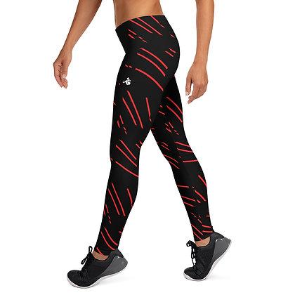Red Line exercise leggings.