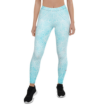 Blue Diamond exercise leggings. #FITGIRL