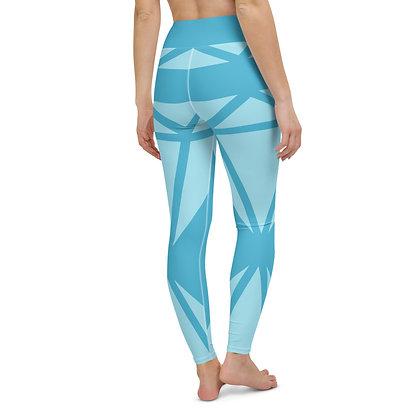 Blue Diamond exercise leggings.