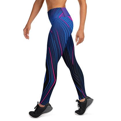 Strobe Lights exercise leggings. #FITGIRL