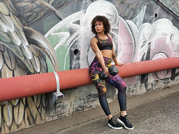 shapeit gym & street wear Holi exercise leggings