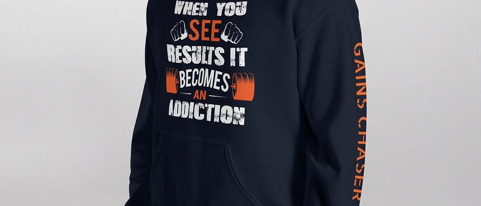Navy Shapeit Hoodie | Addiction