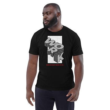 Mens Black | Work Hard premium T-Shirt