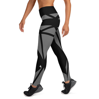 Black Diamond exercise leggings.