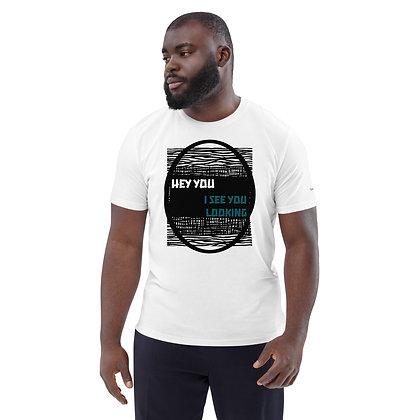 Mens White | I see you looking premium T-Shirt