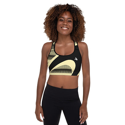 Golden Harp precision padded sports bra for extra comfort.