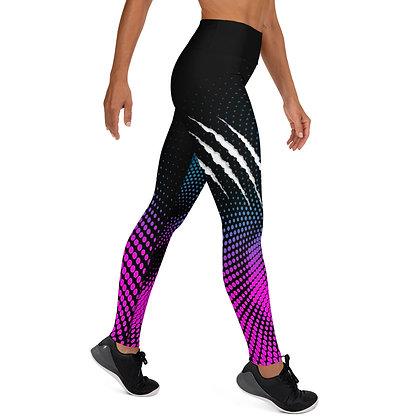 Vicious Purple exercise leggings. #FITGIRL