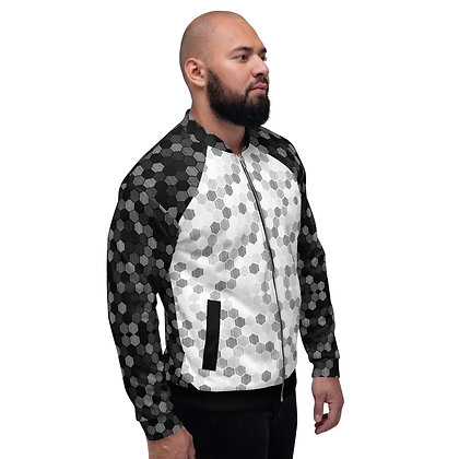 Men's Pixel's Bomber Jacket
