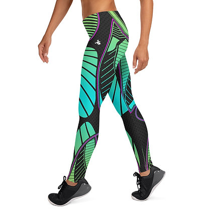 Coral Reef exercise leggings. #FITGIRL