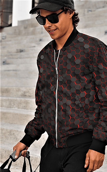 shapeit gym & street wear bomber jacket