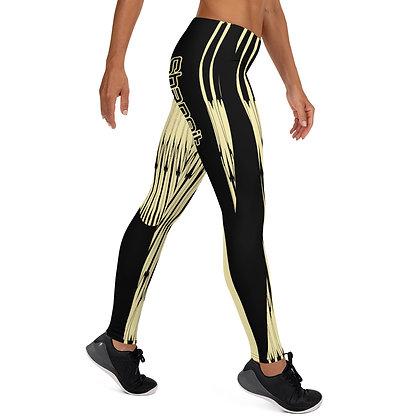 Golden Harp exercise leggings. #FITGIRL