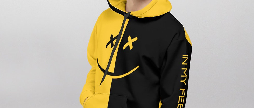 Shapeit Yellow&Black Premium Hoodie
