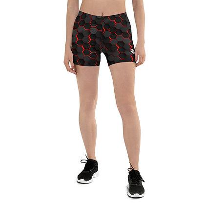 Train Like A Superhero Booty Shorts