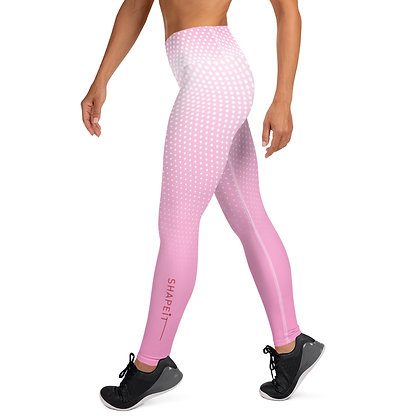 Passion Pink exercise leggings.