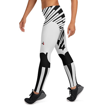 White Tiger Claw exercise leggings. #FITGIRL