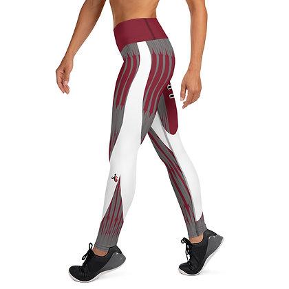 Biker Chick Gray exercise leggings. #FITGIRL