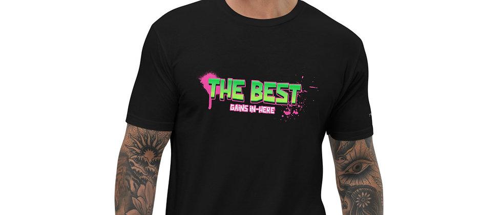 Mens Black | The Best Gains T-Shirt