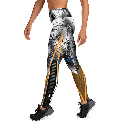 Asteroid Rain exercise leggings. #FITGIRL