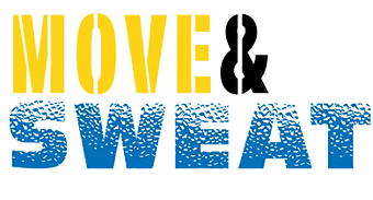 move & sweat boot camp logo