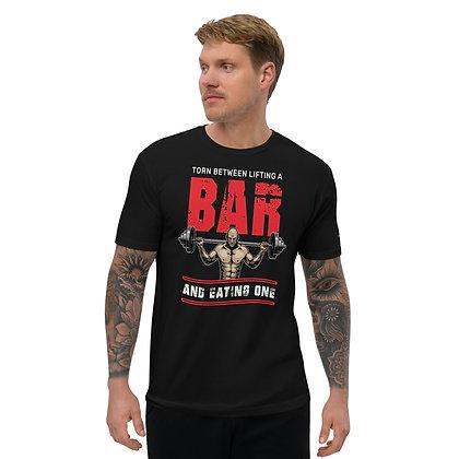 Mens Black | Torn between lifts premium T-Shirt