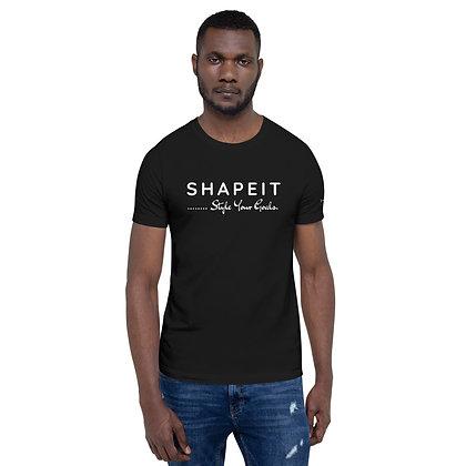 Mens Black | Shapeit style your goals premium T-Shirt