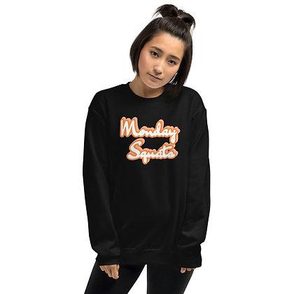 Black Monday Squats Sweatshirts