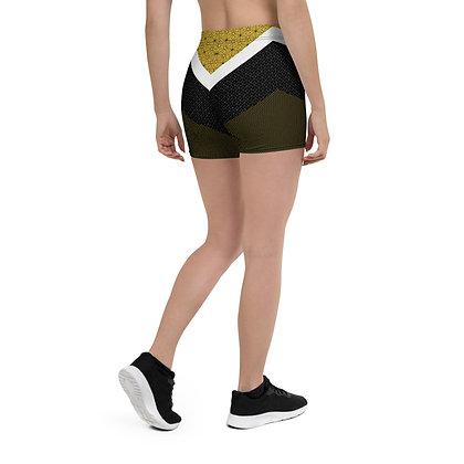 Gold Shades Booty Shorts