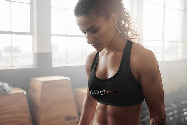 shapeit gym and street wear sports bra