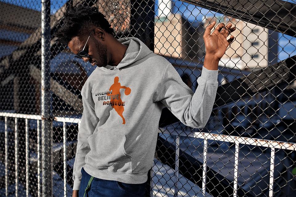 shapeit gym and street wear basketball hoodie