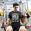 Thumbnail: Mens Black | Gym is like a woman premium T-Shirt