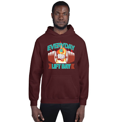 Maroon Shapeit Hoodie | Everyday Is Lift Day