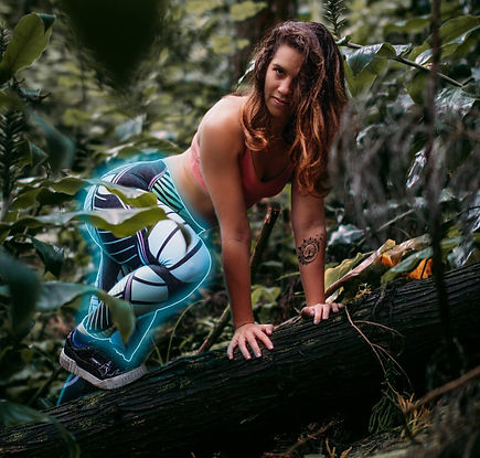 shapeit gym and street wear coral reef leggings