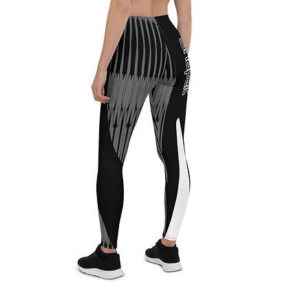 Dark Harp exercise leggings #FITGIRL