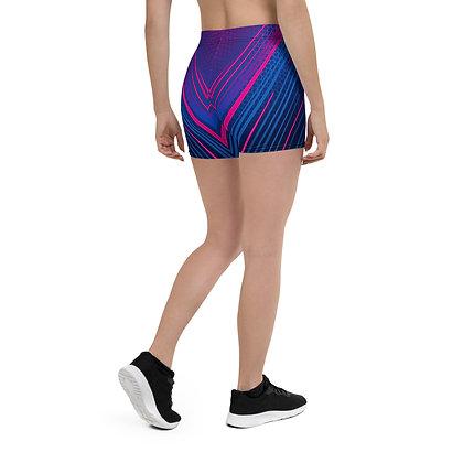Strobe Lights Booty Shorts