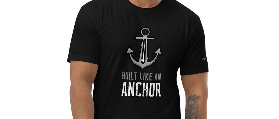Mens Black   Anchor T-Shirt