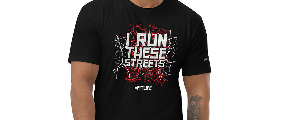Mens Black | Run These Streets T-Shirt