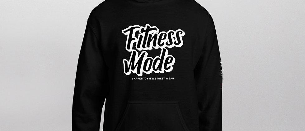 Black Shapeit Hoodie | Fitness Mode