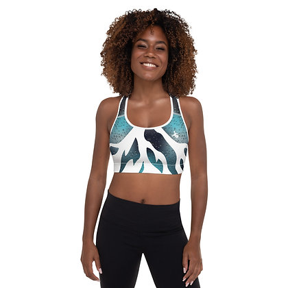 Icy Waters Precision Padded Sports Bra